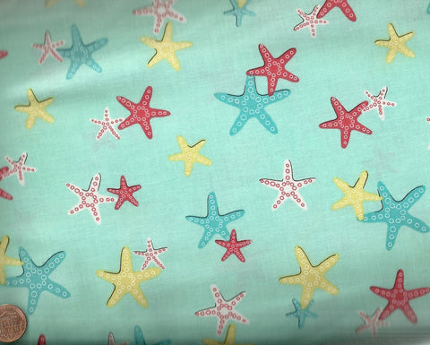 A Sea of Stars Michael Miller fabric