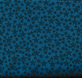 Round Up western children blue stars retro Rivers Bend fabric