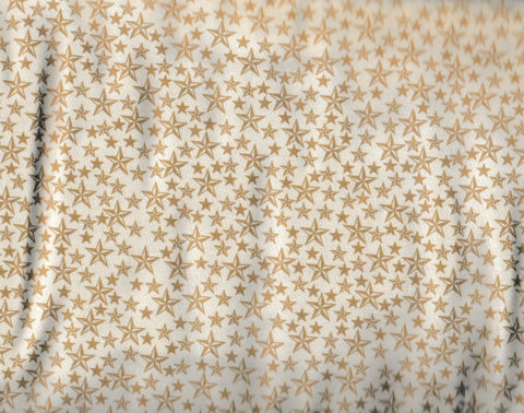 Round Up western children cream stars retro Rivers Bend fabric