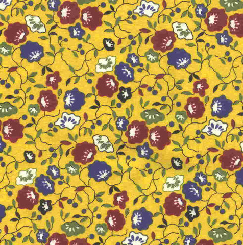 Apple Pie American Jane Moda bright floral fabric