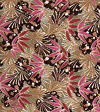 Asian Allegory floral Blank fabric