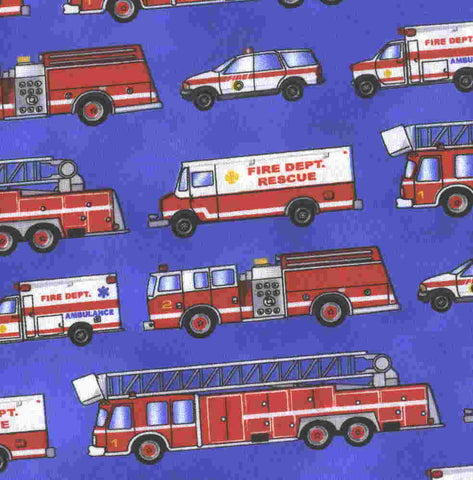 Brigade Parade rescue fire trucks emergency Michael Miller fabri