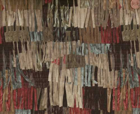 Buffalo Bill 30054-6 multi colored fringe fabric