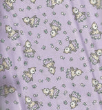 EBTKS Everything but the Kitchen Sink lavender lambs 1930s repro fabric RJR