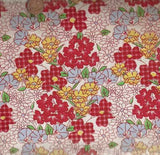 Feedsack VI 309191 floral 1930s reproduction Windham fabric