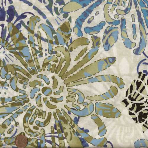 Floragraphix 1FGD-2  large floral Jason Yenter fabric