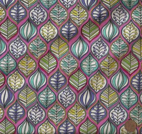 Lava Leaves Michael Miller fabric