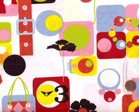 Mad for Mod funky retro Alexander Henry fabric