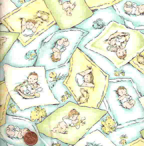 Off to Dreamland Exclusively Quilters childrens fabric