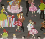 Prom retro Michael Miller fabric