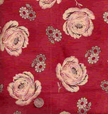 Queen of the Ranch red floral retro western bandana Moda fabric