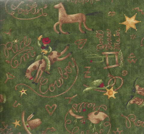 Rodeo western Debbie Mumm South Seas fabric