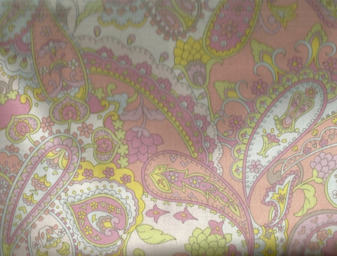 Storybook Paisley Pink Alexander Henry fabric