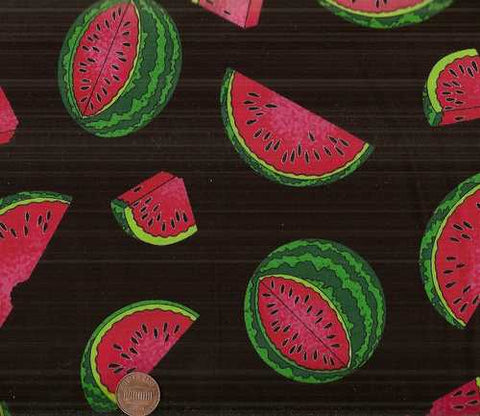 Watermelon food kitchen Timeless Treasures fabric