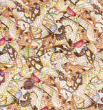 Woodsy Wonders butterflies bugs Janet Wecker-Frisch children's fabric
