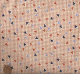 Aunt Grace Classic orange Marcus fabric
