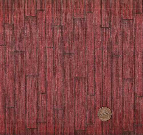 Autumn in the Air 25214 red barn wood Wilmington fabric