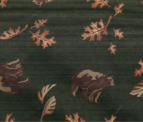 Birch Bark Lodge green bears Holly Taylor Moda fabric