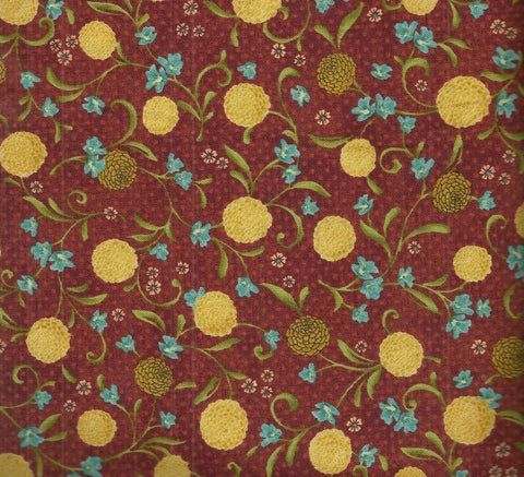 Glow 19410 floral Red Rooster fabric