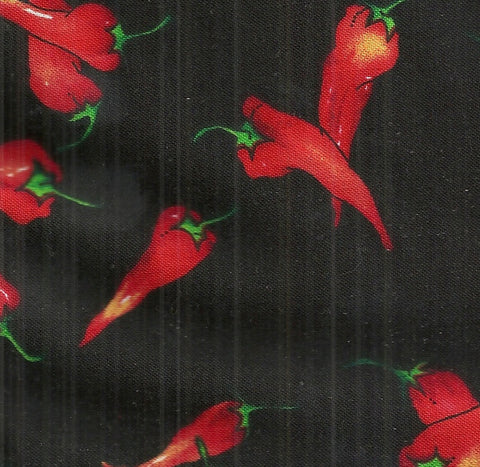 Red Peppers Alexander Henry fabric