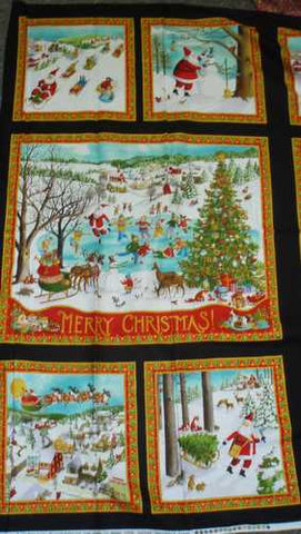 Winter Wonderland 23090-13 Christmas panel