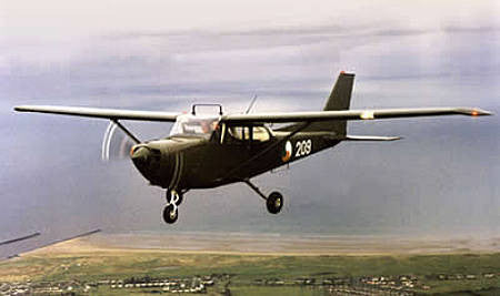 The Cessna 172 in Military Colours