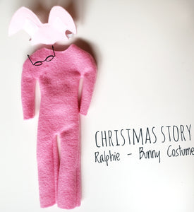 Christmas story - inspired bunny pajamas for Elf