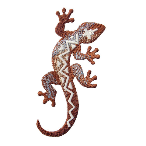 Southwestern Lizard Iron On Sew On Patch