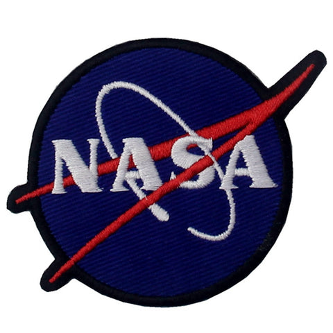 NASA Logo Iron On Sew On Patch