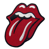 Rolling Stone Tongue Iron On Sew On Patch