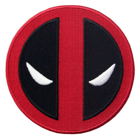 Extreme Deadpool Embroidered Iron On Sew On Patch
