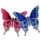 Butterfly Embroidered Iron On Sew On Patch