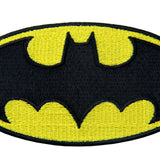 Batman Embroidered Iron On Sew On Patch