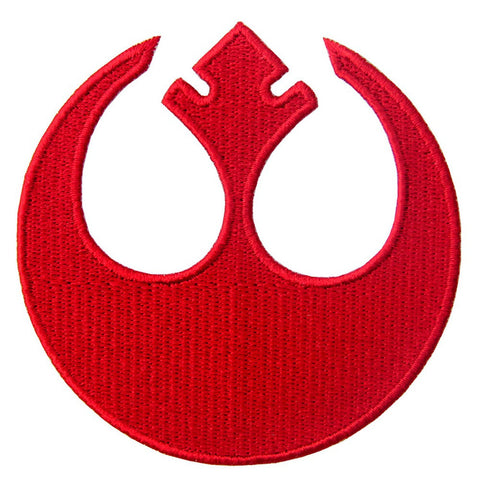 Rebel Insignia Star Wars Iron On Sew On Patch