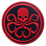 CAPTAIN AMERICA HYDRA Iron On Sew On Patch