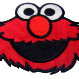 Elmo Monster Embroidered Iron on Sew on Patch