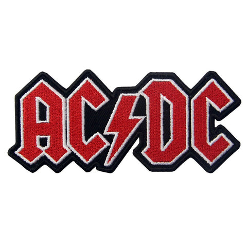 AD/DC Embroidered Iron on Sew on Patch