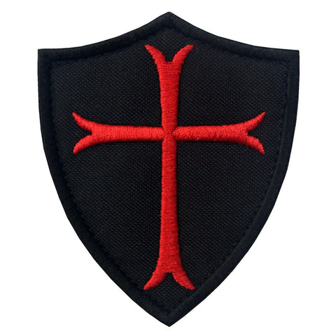 Knights Templar Cross Velcro Patch