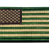 USA Flag Velcro Patch - Multitan