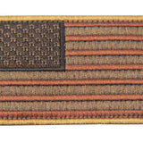 USA Flag Velcro Patch - Subdued Red