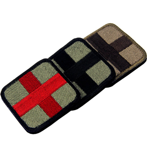 Medic Cross Velcro Patch- Bundle 3 pcs