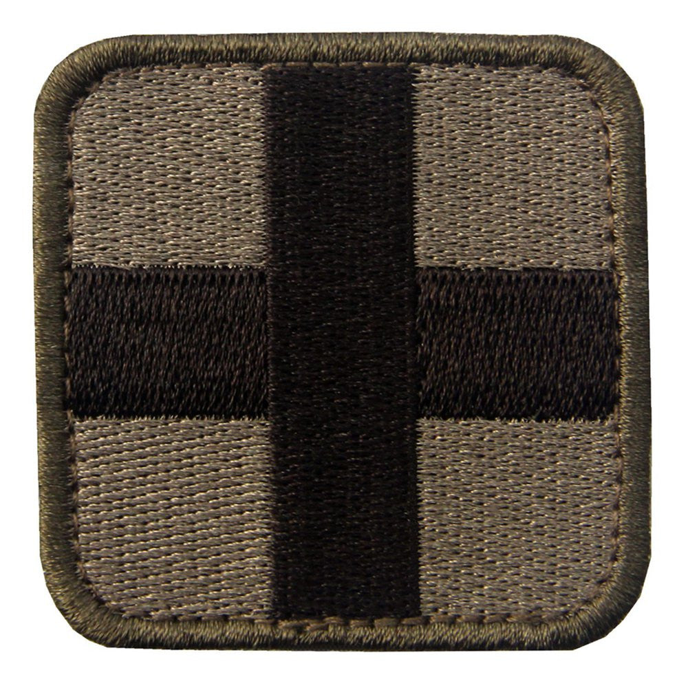Embroidered Medic Cross Tactical Velcro Applique Patch – EMBIRD 92b8572d580