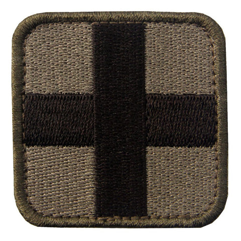 Medic Cross Velcro Patch - Multitan