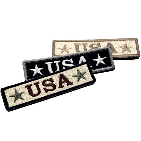 USA Velcro Patch- Bundle 3 pcs