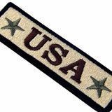 USA Tactical Velcro Patch - Coyote Tan