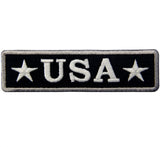 Glow In Dark USA Tactical Iron On Sew On Patch