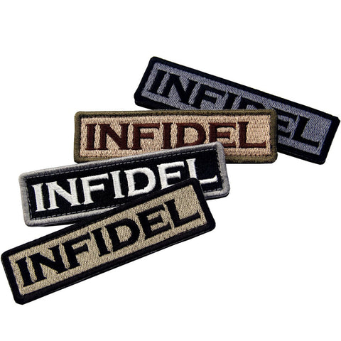 Infidel Velcro Patch- Bundle 4 pcs