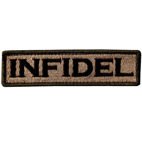 Infidel Velcro Patch - Multitan