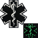 Glow In Dark ACU EMS EMT Medic Paramedic Iron On Sew On Patch