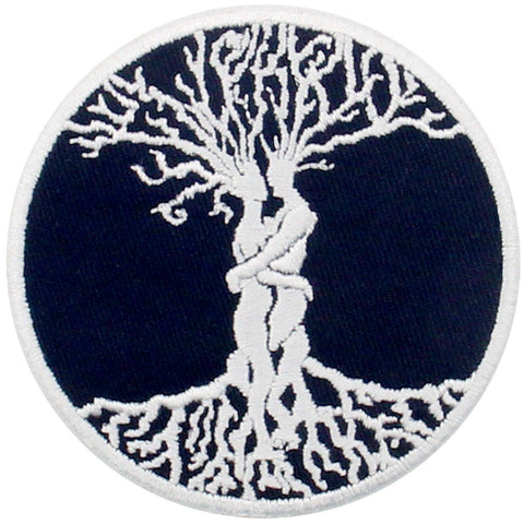 Love Tree Embroidered Iron Sew On patch